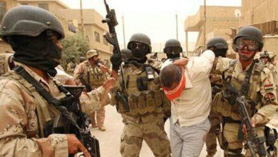تصویر بازداشت 8 تروریست داعشی در عراق