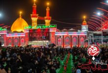تصویر برگزاری سفره جهانی حضرت رقیه سلام الله علیها