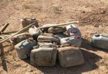 تصویر خنثیسازی ۱۳ بمب در عملیات نیروهای عراقی در الانبار