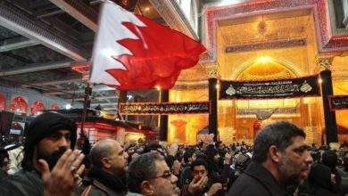 تصویر بستن راه بر زائران اربعین حسینی این بار توسط بحرین