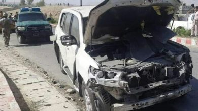 تصویر حمله تروریستی در ولایت لغمان افغانستان