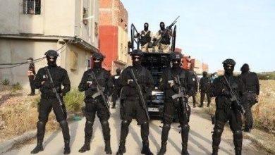 تصویر انهدام یک هسته گروهک وابسته به داعش در کشور مغرب