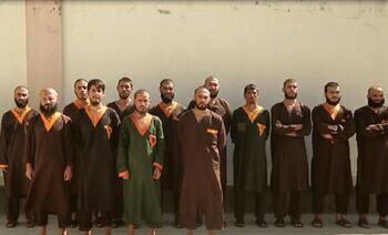 تصویر بازداشت اعضای یک شبکه ترور در کابل