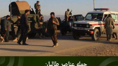 تصویر حمله عناصر طالبان به نیروهای امنیتی در شمال افغانستان