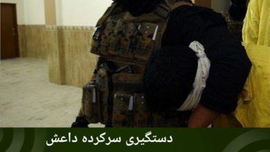 تصویر دستگیری سرکرده داعش در کرکوک/بمباران مواضع تروریست ها در دیالی