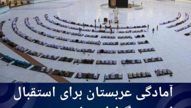 تصویر آمادگی عربستان برای استقبال از عمرهگزاران خارجی