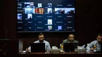 تصویر آغاز بکار اولین کنفرانس علمی بینالمللی میراث کربلا و جایگاه آن در کتابخانه اسلامی