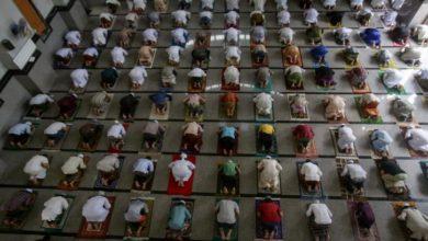 تصویر فتوی علمای دینی اردن: رفت و آمد فرد به مبتلا کرونا شرعا حرام است