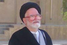 تصویر درگذشت آيت الله حسينی جلالی در آمریکا