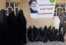 تصویر موسسه انوار الجوادین علیهم السلام به کمک نیازمندان شتافت