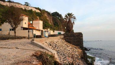 تصویر تلاش برای مرمت تنها مسجد یک جزیره آفریقایی