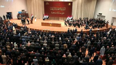 تصویر درخواست پارلمان عراق برای قطع روابط دیپلماتیک با امارات