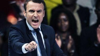 تصویر فرصت 15 روزه رئیس جمهور فرانسه به مسلمانان!