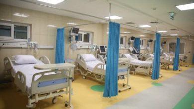 تصویر افتتاح بیمارستان ۱۰۰ تختخوابی آستان مقدس حسینی در عراق