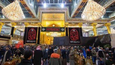 تصویر عراقی ها جای زائران کشورهای دیگر را پر کردند