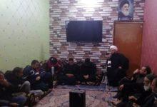 تصویر بزرگداشت ایام شهادت حضرت زهرا سلام الله علیها در بغداد