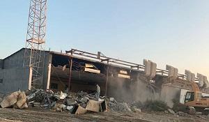 تصویر خشم شیعیان از تخریب مسجد امام حسین علیه السلام در عربستان