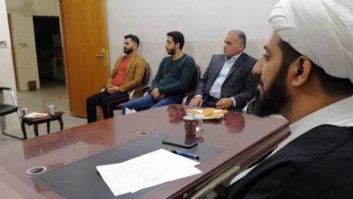 تصویر برگزاری جلسه هفتگی مؤسسه مصباح الحسین علیه السلام در کربلای معلی