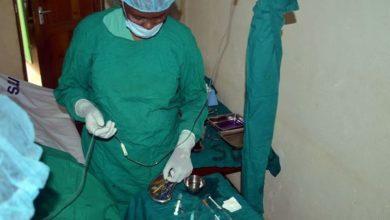 تصویر برپایی اردوگاه پزشکی توسط کمیته جهانی اهل البیت علیهم السلام در تانزانیا