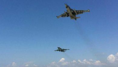 تصویر هلاکت ۱۸ عضو طالبان در حمله هوایی جنگندههای افغانستان