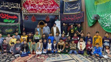 تصویر آغاز طرح «جوانه های علوی برای سرود اسلامی» در آستان مطهر علوی