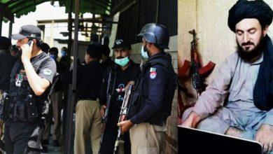 تصویر بازداشت فرمانده ارشد طالبان در پاکستان