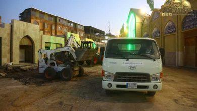 تصویر تکمیل پروژه بازسازی و توسعه صحن باب المراد در آستان مقدس کاظمین