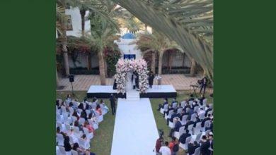 تصویر برگزاری اولین مراسم رسمی عروسی یهودیان در امارات