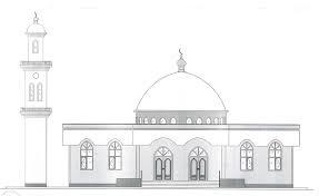 تصویر جزئیات پروژه ساخت مسجد جدید در نیوجرسی