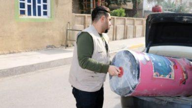 تصویر ادامه اجرای پروژه خیریه هیئت فرهنگی صادقیه در بصره