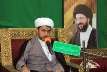 تصویر برگزاری سیزدهمین سالگرد ارتحال آیت الله سید محمدرضا شیرازی در عربستان