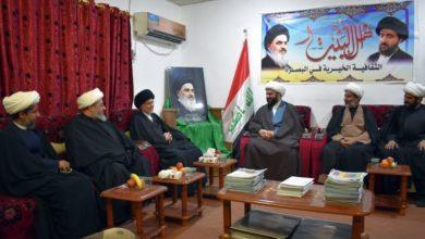 تصویر جدید ترین فعالیت مجمع جهانی هیئات و مواکب حسینی در عراق در ایام فاطمیه