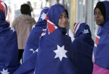 تصویر حضور مسلمانان استرالیا در جشن روز ملی