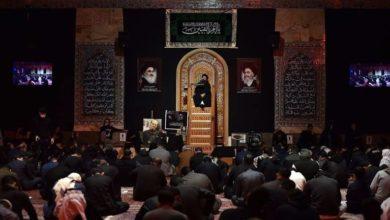 تصویر بزرگداشت ایام وفات حضرت ام البنین سلام الله علیها در کویت