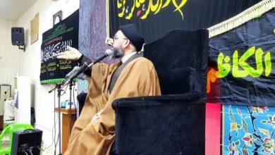 تصویر شرکت نمایندگان مرکز اندیشه اسلامی اهل بیت علیهم السلام در مراسم عزای فاطمی