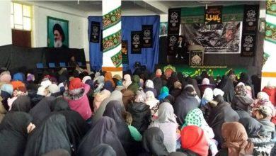 تصویر برگزاری عزاداری فاطمی از سوی مجتمع حضرت فاطمه زهرا سلام الله علیها در کابل