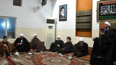 تصویر ادامه برگزاری مجالس عزای فاطمی در دفتر مرجعیت کربلای معلی