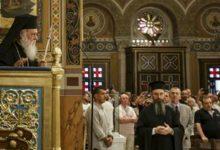 تصویر مسلمانان یونان اهانت اسقف اعظم به اسلام را محکوم کردند