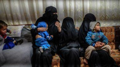 تصویر بازگشت هفت کودک فرانسوی داعش به فرانسه