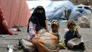 تصویر رنج بردن ۶۰ % از مردم یمن از قحطی