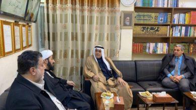 تصویر نماینده پارلمان عراق: تلاش مرجعیت حضرت آیت الله العظمی شیرازی در زمینه انسانی و اطلاع رسانی قابل تقدیر است