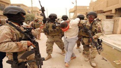 تصویر بازداشت سرکردههای داعش در الانبار