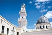 تصویر مسجدی که به مرکز واکسیناسیون ضد کرونا تبدیل شد