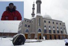تصویر ساخت اولین مسجد در جنوب غربی قطب شمال