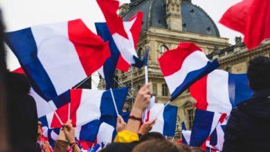 تصویر آغاز تبلیغات انتخابات ریاست جمهوری فرانسه با تبلیغ علیه اسلام!