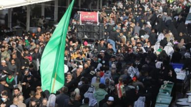 تصویر حضور ملیونی شیعیان در مراسم عزادارای شهادت امام هادی علیه السلام در سامرا