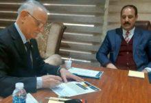تصویر حمایت نماینده پارلمان عراق از پروژه مؤسسه مصباح الحسین علیه السلام