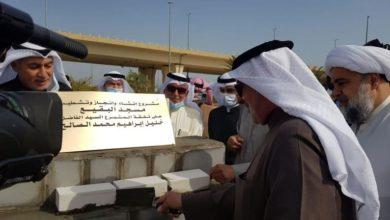 تصویر سنگ بنای مسجد بقیع در کویت بنا نهاده شد