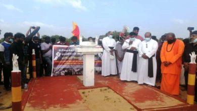 تصویر تظاهرات گسترده مسلمانان و دیگر اقلیت ها در سریلانکا