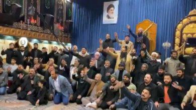 تصویر تشکیل «ائتلاف هیئات و مواکب منطقه کرخ بغداد» در کاظمین